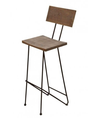Bar Chair with industrial...