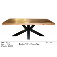 iron-wooden-dining-table