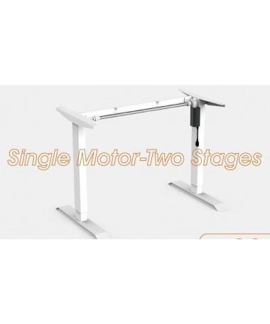 Adjustable height single...