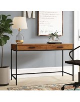 office-table-with-two-drawers-and-metal-legs