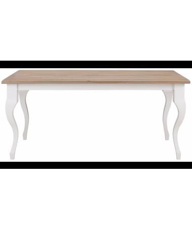 Otis wood and white table